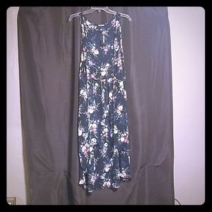 NWT Floral Chiffon Duster